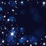 Stars Brust Background Stock Photo