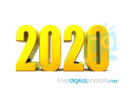 2020 happy new year 3d logo Vector   Premium Download