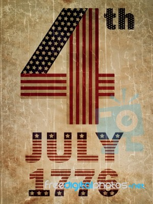 4th July 1776 Stock Image - Royalty Free Image ID 10047803