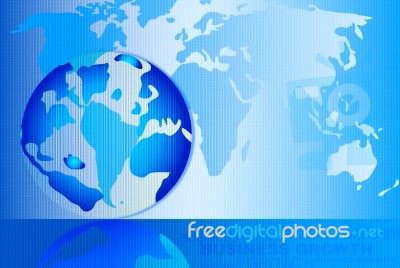 Abstract background with world map stock image royalty free image abstract background with world map stock image gumiabroncs Choice Image