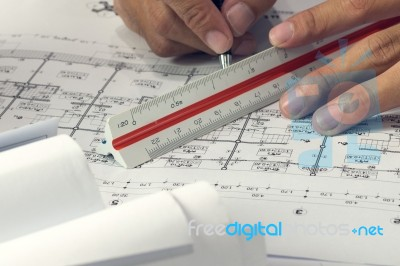Architectural project in progress engineering concept for Architectural engineering concepts