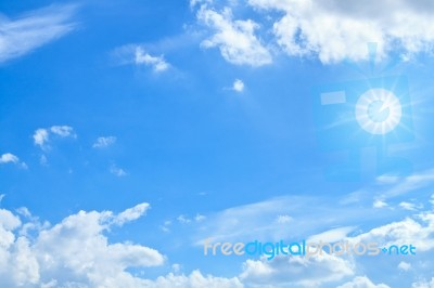 Blue Sky Background Stock Photo - Royalty Free Image ID 10037632  Sky