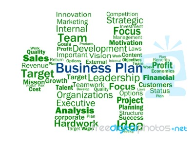 Aims of business plan