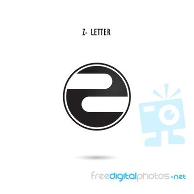 Creative Z-letter Icon Abstract Logo Design z-alphabet