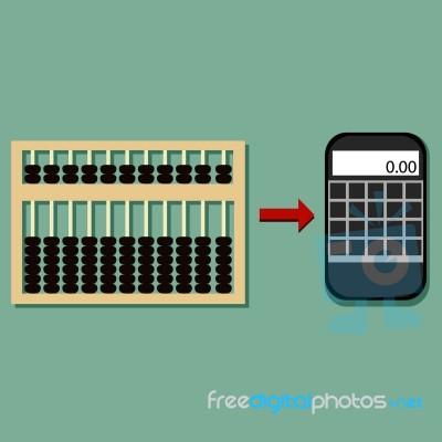 Evolution Of Calculator Stock Image Royalty Free Image Id 100156390
