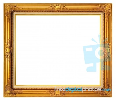 Gold Frame Stock Photo - Royalty Free Image ID 100142860