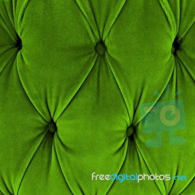 green sofa upholstery velvet fabric stock photo