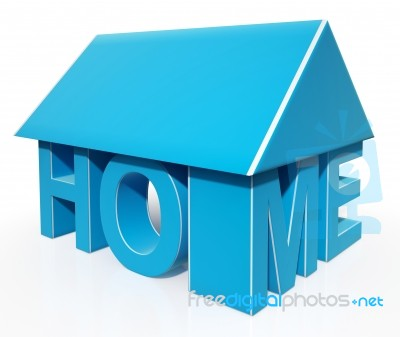 House Word Icon Showing House For Sale Stock Image - Royalty Free ...