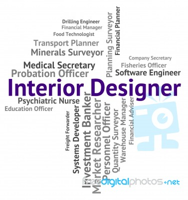 Finest Interior Designer Shows Hire Words And Occupations Stock Image With Design Engineer