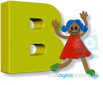Letter B Girl