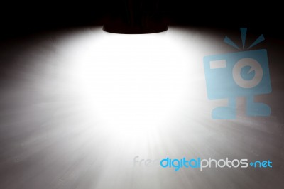 Light Shining On Concrete Wall Stock Photo Royalty Free