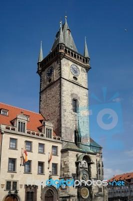 The blue tower praha
