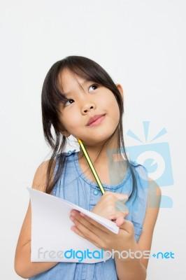young cute asian girl Very