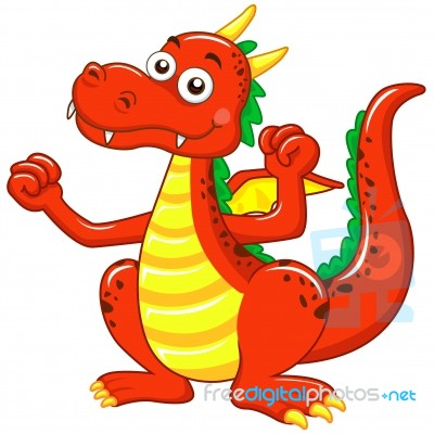 Image result for red dragon image cartoon