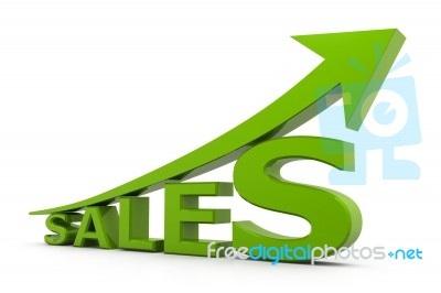 sales growth stock image   royalty free image id 100172662