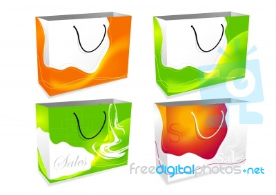 shopping bag design stock image royalty free image id 10022377