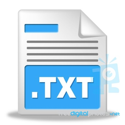 Image Gallery: Txt file