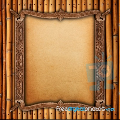bamboo wood frame - photo #31